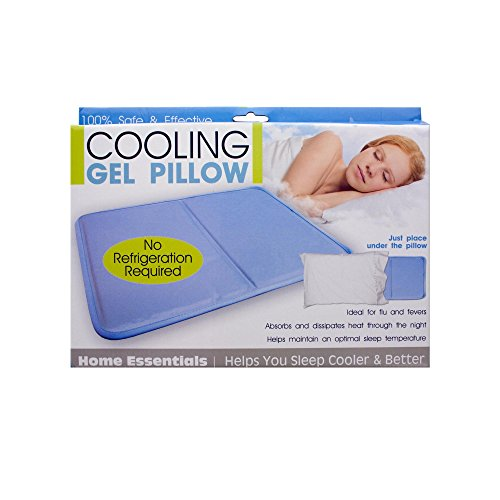 Kole Imports OC280 Cooling Gel Pillow, Measures Approximately 16