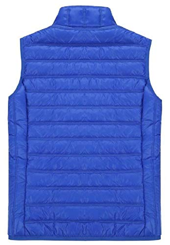 2 Zipper Puffer Quilted Jacket Women's Vest with Outwear Lightweight Pockets security qCwvEOx