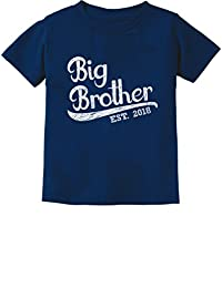 TeeStars - Gift for Big Brother 2018 Toddler/Infant Kids T-Shirt