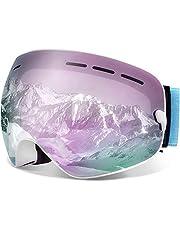 Juli Ski Goggles,Winter Snow Sports Snowboard Goggles Men Women & Youth Snowmobile Skiing Skating BNC