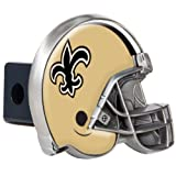 Great American Products NFL New Orleans Saints Metal Helmet Trailer Hitch Cover