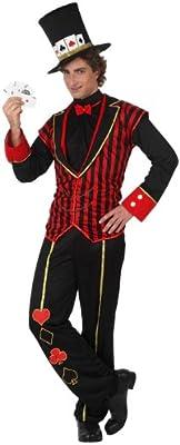 Atosa-10165 Disfraz Caballero Baraja, color rojo, M-L (10165 ...