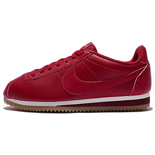 Nike Women's Classic Cortez Leather HK GYM RED-WHITE TEAM RED (Large Image)