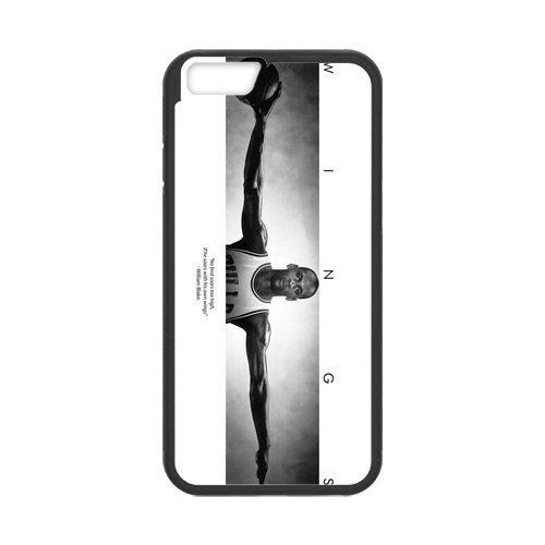 [[Accessory] iPhone 6 Case, [Michael Jordan] iPhone 6 (4.7) Case Custom Durable Case Cover for iPhone6 TPU case(Laser] (Michael Jackson Black Or White Costume)