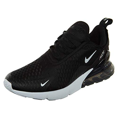 83612d22f4b6 Nike Mens Air Max 270 Running Shoes Black White Solar Red Anthracite  AH8050-002 Size 9.5