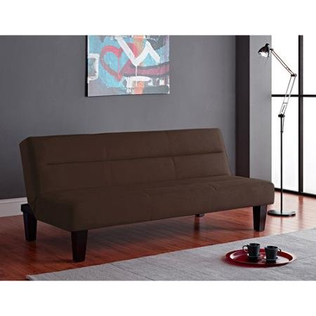 Kebo Futon Sofa Bed, Brown, Ideal for Hanging Out in the Lazy Afternoon or Catching Some Sleep At Night 2005219