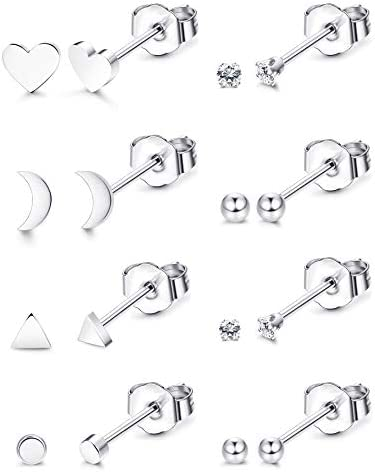 Thunaraz Stainless Earrings Cartilage Piercing product image