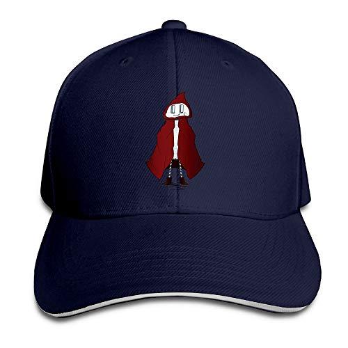 JimHappy Little Red Riding Hood Casul Trucker Cap Durable Baseball Cap Hats Adjustable Peaked Sandwich Cap -
