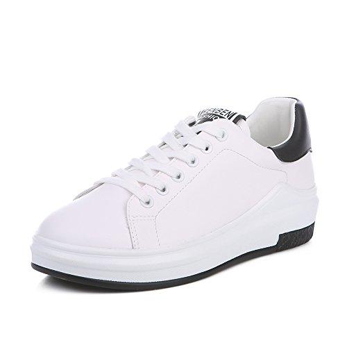 Peu Plate Chaussures De Coréenne forme Version Dans B Joker Casual Course espadrilles Blanc Printemps Les Pure Littéraire chaussure tIvxqdY
