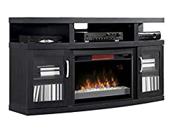 ClassicFlame 26MM5508-NB04 Cantilever TV Stand for TVs up to 65\