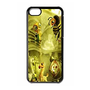 IPhone 5C Cases 3D Dolls, Protective Case for Iphone 5 - [Black] Okaycosama