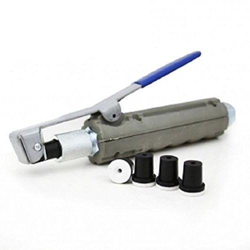 Abrasive Blaster Sandblaster Nozzle Gun w/ 4 Ceramic Tips Dead-Man Nozzle ()