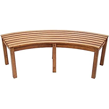 This Item Achla Designs Curved Backless Bench