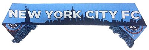 New York City FC MLS Scarf - Skyline Scarf