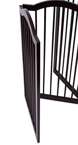 Internet S Best Pet Gate With Arched Top 3 Panel 36