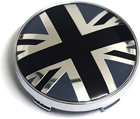 Biomar Labs/® 4 x 60 mm Silicone Hub Caps Yin Yang Symbol Wheel Centre Caps Hub Cover Car Tuning C 81