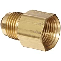 Anderson Metals Brass Tube Fitting, Coupling, 3/8 Flare x 1/4 Female Pipe by Anderson Metals