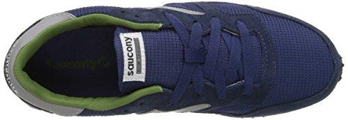 Sneaker Saucony DXN Trainer de ante gris Navy