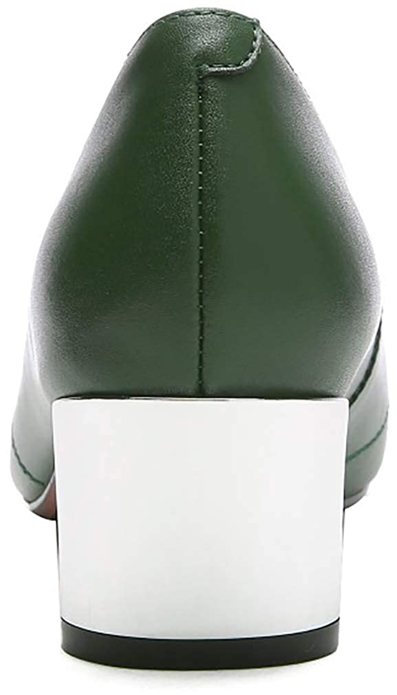 Calaier Donna xinghe Punta-Toe 4.5CM 4.5CM 4.5CM Scivolare su Scarpe col Tacco Calzature 38ec3c