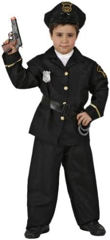 Atosa-93773 Disfraz Policía, color negro, 3 a 4 años (93773 ...