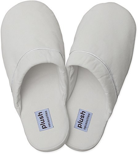 The Luxe Slippers - Brushed Microfiber Slippers White I2EbF