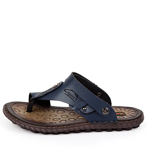 Sandalias de sandalias ocasional sandalias correa de flip Doble actual flops zapatos C uso Verano de AwBxtZnqw