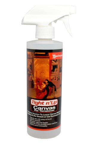 Masterpiece Artist Canvas Tight-n-Up Canvas Retensioner Spray, 16-Ounce (9872) by Masterpiece Artist Canvas