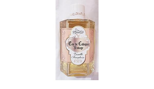 Les parfums de Grasse - agua de colonia Vintage - aroma a vainilla Frambuesa - 250 ml: Amazon.es: Belleza