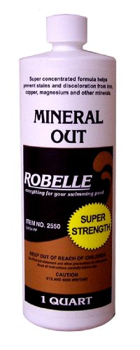 Robelle 2550 Mineral Out Stain Remover for Swimming Pools, 1-Quart (Hot Tub Scale Remover compare prices)