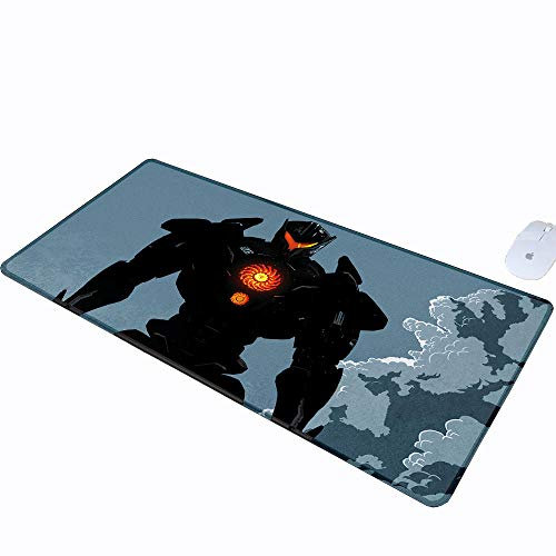 Pacific Small Mouse Pad Rim Optical Laser Mouse Uprising Cute Mouse pad Gipsy Avenger Minimalist Jaeger Anti-Fray Cloth Gaming Mouse Pad W15.7