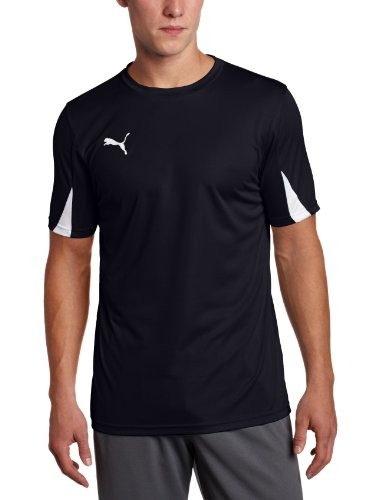 Puma Team Shirt, New Navy-White, Large