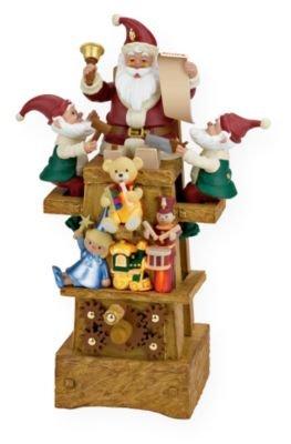 Santas Jolly Workshop 2009 Hallmark Ornament