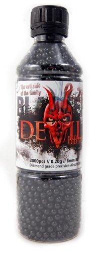 Blaster Devil Diamond Grade Bb/'s 0.2g 3000 Black Bb Airsoft
