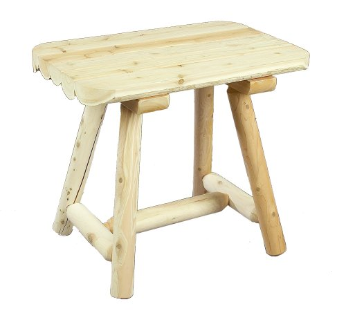 Cedarlooks 020090B Log End Table For Sale