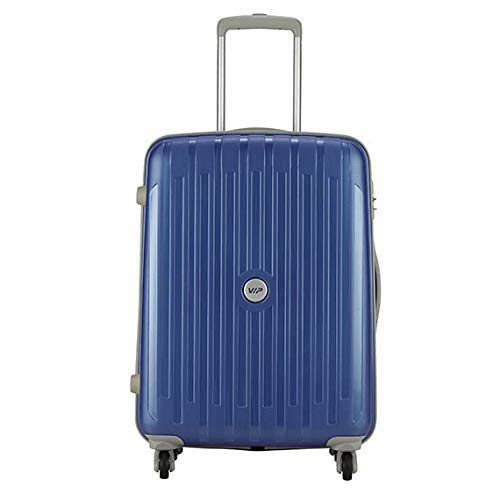 VIP NEOLITE STROLLY 65 360 Degree MAB Blue Polypropylene Hardsided Check in Luggage