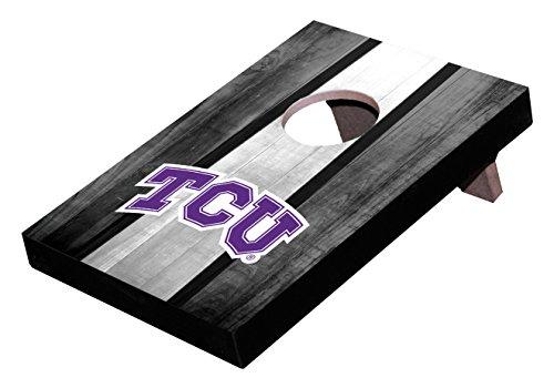 Wild Sports NCAA College TCU Horned Frogs Mini Cornhole Game