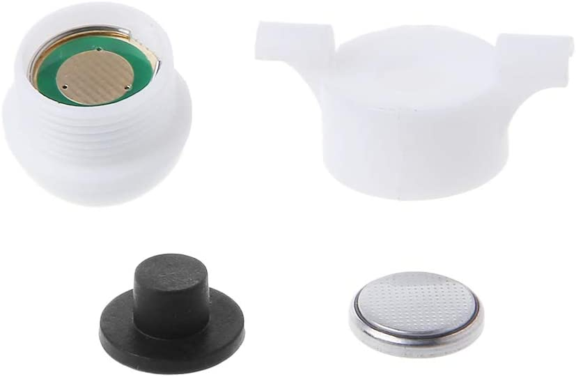 minansostey Mini LED Light Automatic Induction Fishing Alarm Rod Tip Carp Night Fishing Light Auto Recognition Bite Alarm