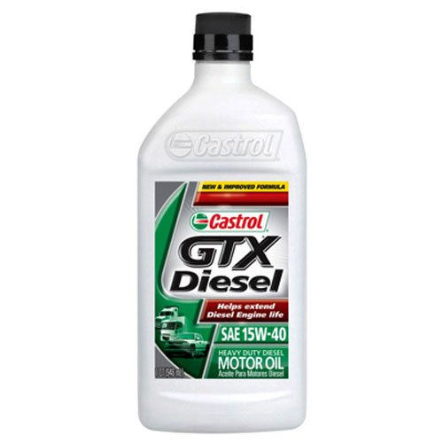 BP Lubricants USA inc 06141 Castrol GTX, QT, 15W40, Diese...