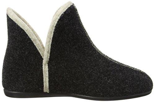 Florett Rema - Zapatillas de estar por casa de fieltro para niño gris - gris