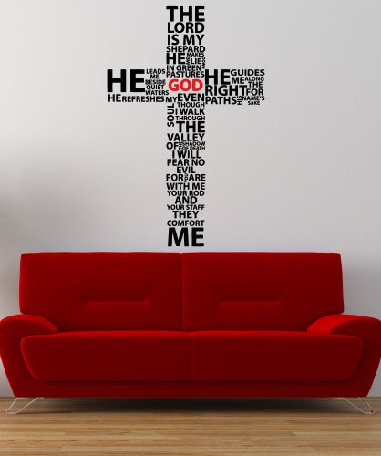 How to buy the best psalm 23 wall decal?