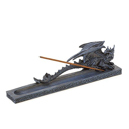 - Stick Incense Burner, Resin Dragon Incense Stick Holder (Sold by Case, Pack of 24)
