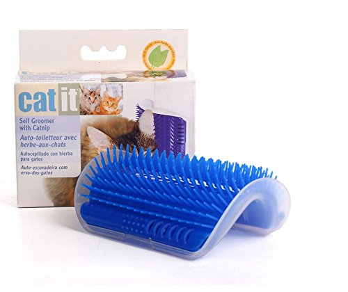Amazon.com: Chusea Cat Massage Device Self Groomer With Cat nip Pet Toy For Cat Brush Comb: Kitchen & Dining