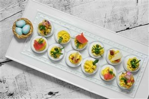 Nora Fleming Egg or Appetizer Tray -