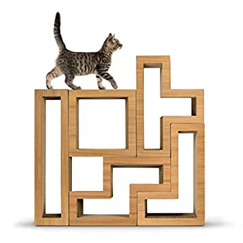 KATRIS Modular Cat Tree   5 Blocks With Different Styles