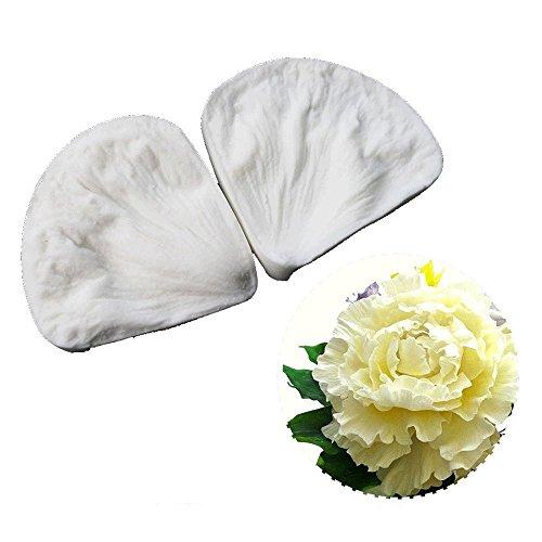 (SK 3D Peony Sugar Petal Veiner Gumpaste Molds Candy Molds Baking Cookie Moulds Soap Decorating Molds)