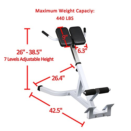Captivating Sportmad Hyper Bench Roman Chair Adjustable Hyperextension ...