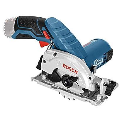 Bosch Professional 12V System Akku Kreissäge GKS 12V-26 (Sägeblatt-Ø: 85 mm, ohne Akkus und Ladegerät, in L-BOXX) 4