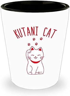 Kutani Gato Shot Gafas - Gag de cumpleaños idea de regalo para los ...