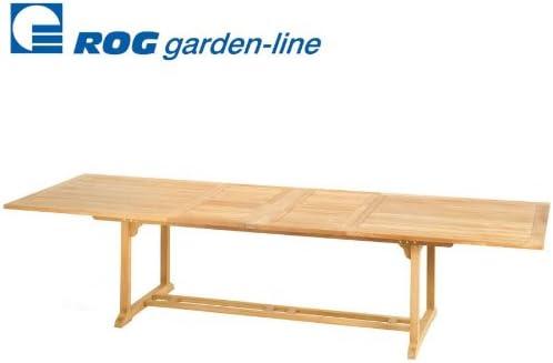 ROG garden line TL8106 Tavolo in teak Gizeh, 240 x 120 cm