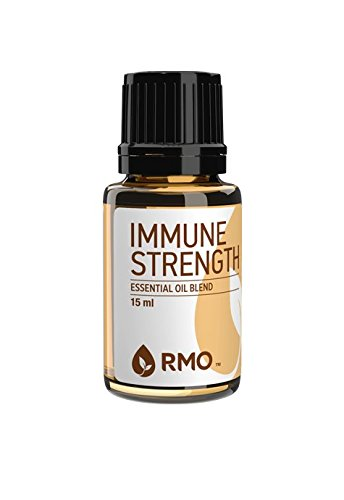 Rocky Mountain Oils - 100% Pure Immune Strength Essential Oil Blend - Supports Healthy Function of Immune System, Assist in Cleanings the Air; Best For Diffusion and Topical Application - 15 ml